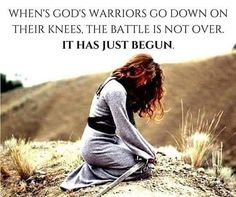 Be a WARRIOR for Jesus Christ! Jesus said for us to pray incessantly and sometimes fasting is required! Christian Life, Christian Quotes, Christian Warrior, Christian Motivation, Faith Quotes, Bible Quotes, Qoutes, Grace Quotes, Gospel Quotes