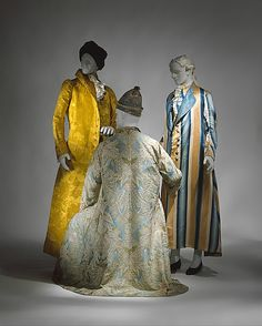 ca. 1730 Culture: French Medium: silk Dimensions: (a) Length at CB: 55 1/2 in. (141 cm) (b) Length at CB: 37 in. (94 cm)