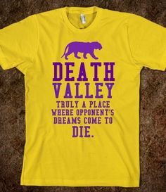 d86f55e7e DEATH VALLEY SHIRT for LSU Tiger fans Just For Laughs, Just For Fun, Cheap