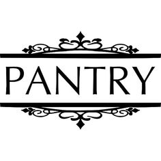 Items similar to Wall Decals for the Home - Pantry Wall Decal - Kitchen Wall Decal - Vinyl Wall Decals on Etsy Kitchen Pantry Doors, Pantry Sign, Kitchen Pantries, Kitchen Cabinets, Filing Cabinets, Kitchen Walls, Kitchen Wall Decals, Dry Well, Vinyl Decor