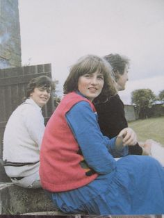 Lady Diana Spencer attending a cricjet match at Althorp age circa 16