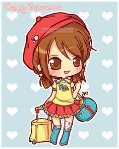 Happy Japan: Yuki-chan by MoogleGurl on deviantART