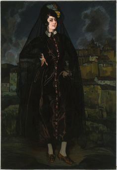 Ignacio_Zuloaga_y_Zabaleta_-_Portrait_of_Anita_Ramírez_in_Black_-_Google_Art_Project