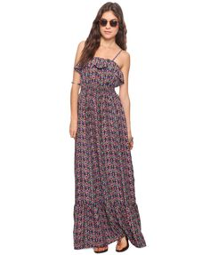 Tribal Pixel Maxi Dress | FOREVER21 - 2015035149