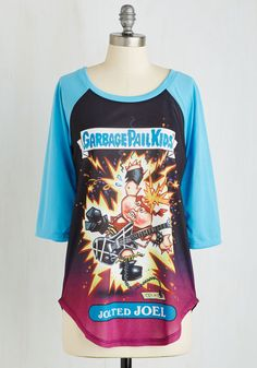 The Kids are Al-fright Top. Flaunt one fantastic flashback with this Garbage Pail Kids baseball tee! #multi #modcloth