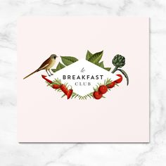 LE BREAKFAST CLUB on Behance