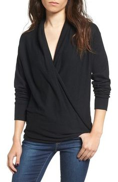 BP. Wrap Front Pullover