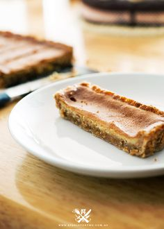 Crack pie photo and recipe. This is popularized by Momofuku's Milk Bar in New York. It has 3 locations there and the crack pie is said to be in high demand.