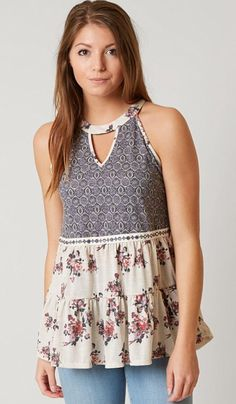 Sleeveless Top - VERNAL SLEEVLESS 3 by VIDA VIDA