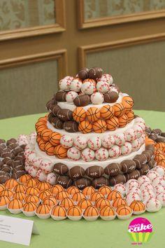 Sports Balls Cake Pops