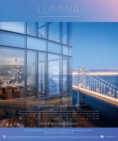 One of our ads for Lumina in San Francisco.DBOX 2014