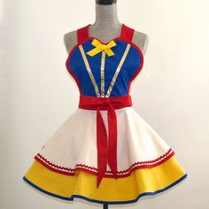 Hey, I found this really awesome Etsy listing at http://www.etsy.com/listing/155348059/snow-white-apron-disney-retro-vintage