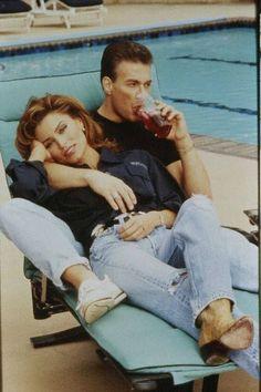 Jean-Claude Van Damme,Darcy LaPier Pictures - Jean-Claude Van ...