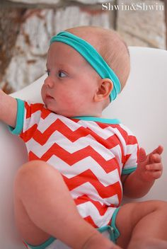 FREE Onesie Sewing Pattern For Your Baby Or As A Baby Gift!