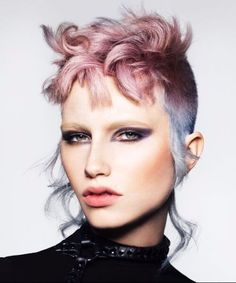 Hair Styles – Hair Care Tips and Tricks Short Hair Dont Care, Short Hair Cuts, Short Hair Styles, Creative Hairstyles, Cool Hairstyles, Hairstyle Ideas, Hair Ideas, Pelo Multicolor, The Wicked The Divine