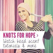 Knots for Hope | Scarves.net #headscarf