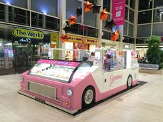 Giovanni's Downtown Gelato at thecentre:mk - OPAL & AVV award winning kiosk #UK #USA