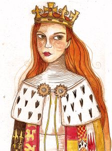 Anne Neville, consort of Richard III, from HistoryWitch.com