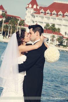 David and Vicki Arndt Photography: Amy & Patrick's Disney Fairy Tale Wedding and Resort Bridal Portrait