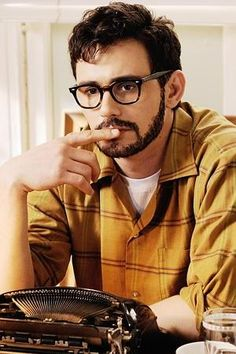 James Franco as Allen Ginsberg. // Just saw this and was as good as I had hoped. #jamesfranco #howl #allenginsberg