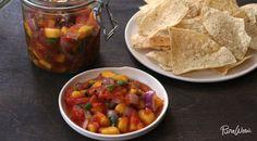 Grilled Mango Salsa via @PureWow