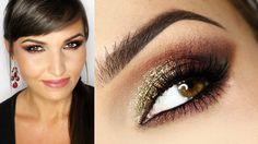 Przepiękny makijaż wykonany przez najlepszą wizażystkę na świecie- Maxineczkę :)