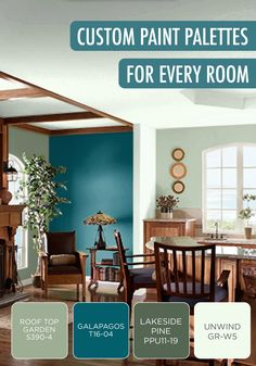 Sometimes, finding the perfect shade to coat the walls of your new home with can be challenging—warm tones, cool tones, there's so much to choose from! Thanks to BEHR paint, it's now easy to sort by color family and decoration style. You'll be on your way to creating stunning room decor just like this in your new home!