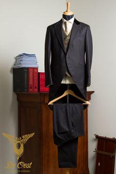 Herringbone, Velvet and Harris Tweed Plaid Combined in a unique Morning Coat