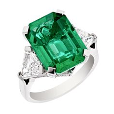 Faberge Devotion African emerald ring