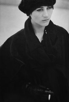 Comme des Garcons 1984 Johanna by Peter Lindbergh- From Comme des Garcons 1981-1986