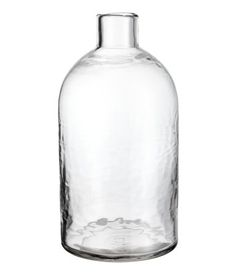 Tall Glass Vase | Clear glass | H&M HOME | H&M US
