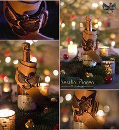 Gürtel von Lichtfalter by Sigrid Oelpenich unterm Weihnachtsbaum (c) Kerstin Pinnen Photodesign