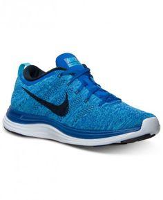 100% authentic 9f257 060f0 Nike Mens Flyknit Lunar+1 Running Sneakers from Finish Line Running  Sneakers, Sneakers Nike
