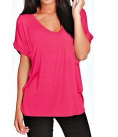 2018Women V Neck Three Quarter Sleeve Casual Loose Tops Tunic Blouse by Laimeng/_ World