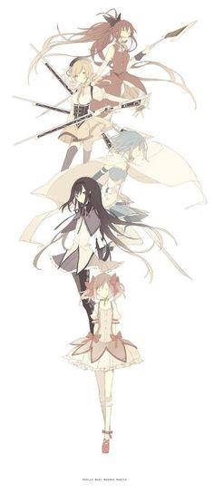 Favorite Shojo anime-- Puella Magi Madoka Magica! :D