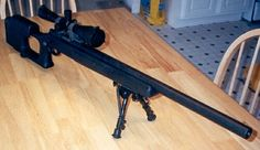 the .243 rifle that shot the 5 shot group