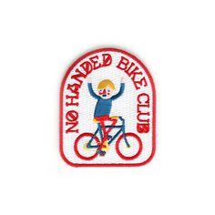 Mokuyobi Threads No Handed Bike Club Patch