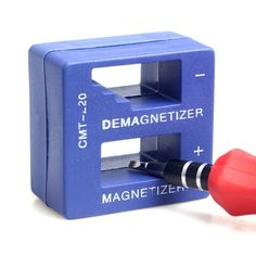High Quality Magnetizer Demagnetizer Tool Blue Screwdriver Magnetic