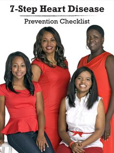 You have the power to reduce your risk of heart disease and stroke. And Go Red For Women offers you comprehensive resources from the American Heart Association to help, including this heart disease prevention checklist. Campbell Soup Company is proud to support Go Red For Women.
