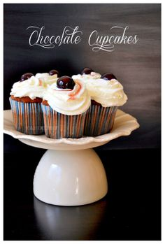 #double #chocolate #cupcakes
