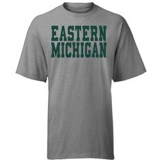 A-Game EMU Eastern Michigan 'Blocky' Tee