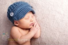 I love this hat... Aunt Sherry... would be cute to have something like this for Grayson!