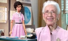 Barbie's New Doll Will Honor NASA Mathematician, Katherine Johnson - Seeing Butterflies Aka Sorority, Alpha Kappa Alpha Sorority, New Dolls, Barbie Dolls, Katherine Johnson, Hidden Figures, Black Barbie, Barbie Collector, African American History