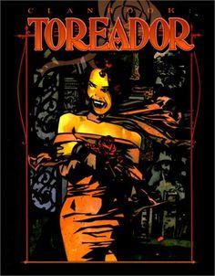 Clanbook Toreador, from Vampire: The Masquerade.  #WorldOfDarkness #WoD #Vampire