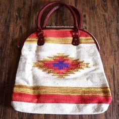 Southern Girl Fashion Bags - ETHNIC BAG Vegan Leather Tribal Big Tote Clutch