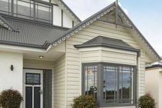 Weathertex's Primelok hardwood weatherboard fixing system creates a clean look by using a specialty locking system to conceal the fixings. Cladding, Hardwood, Weather, Windows, Board, Outdoor Decor, Home Decor, Natural Wood, Decoration Home