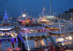 Let's go to a little yacht party in Monaco!