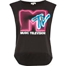 e1631c01c4afd this is an awesome shirt! Grey MTV print tank top - print t-shirts   vests  - t shirts   vests   sweats - women