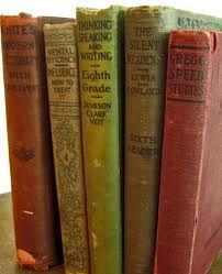 Do you know anyone who collects old books? I wonder how valuable these are