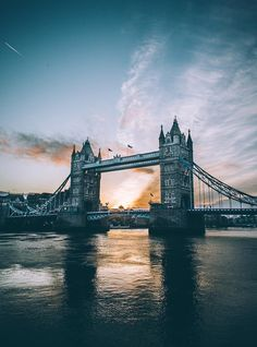 The 10 Most Instagrammed Tourist Attractions in the World - TOWER BRIDGE, LONDON from InStyle.com